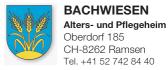 Bachwiesen Alters- und Pflegeheim
