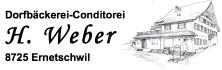 Dorfbäckerei-Conditorei H. Weber