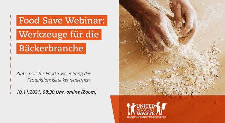 Unser Food Save Webinar für die Bäckereibranche steht kurz bevor!